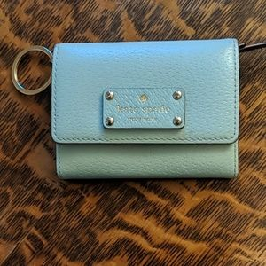 Kate Spade leather wallet.